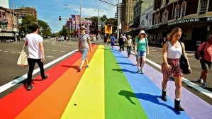 Taylor Square Rainbow Crossing