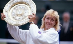 Martina Navratilova. Winner on-court, missed out on endorsements off-court. Source: The Guardian.