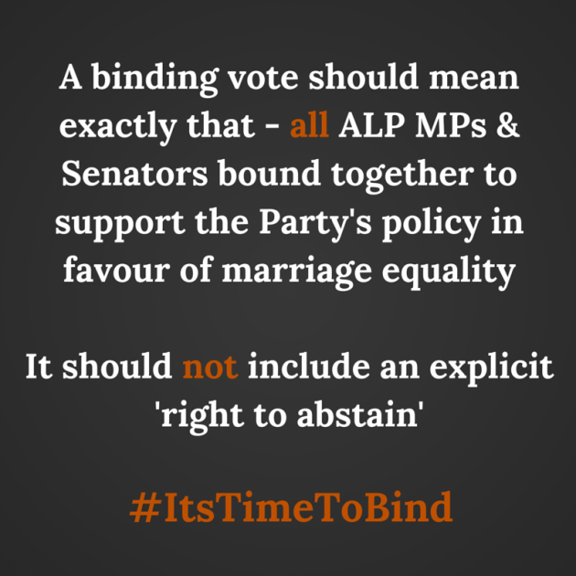 A binding vote should mean exactly that-2