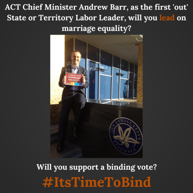 ACT Chief Minister Andrew Barr, as the-2