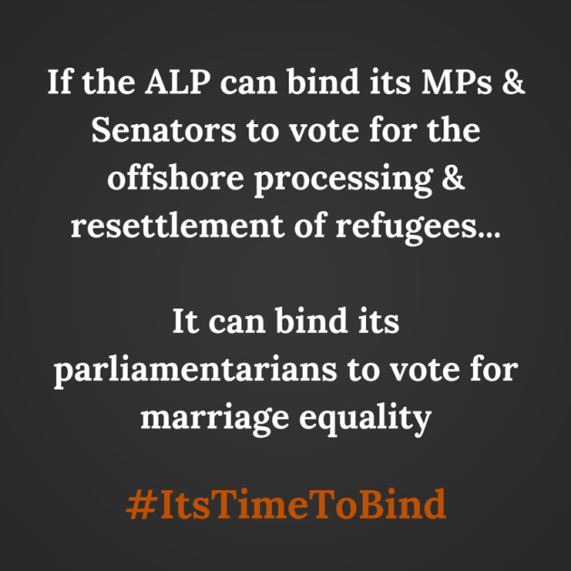 If the ALP can bind its MPs and Senators-2
