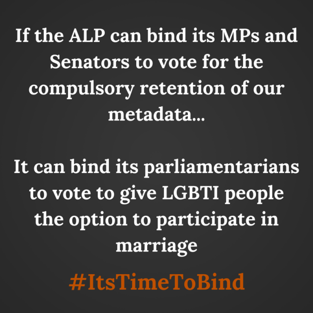 If the ALP can bind its MPs and Senators-3