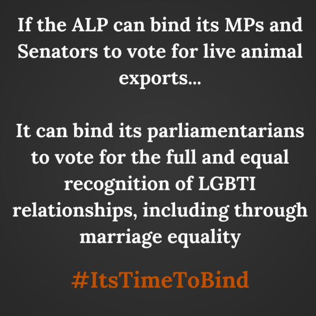 If the ALP can bind its MPs and Senators-5