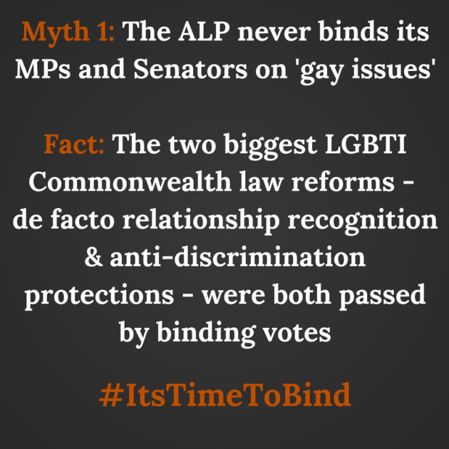 Myth_ The ALP always binds on 'gay