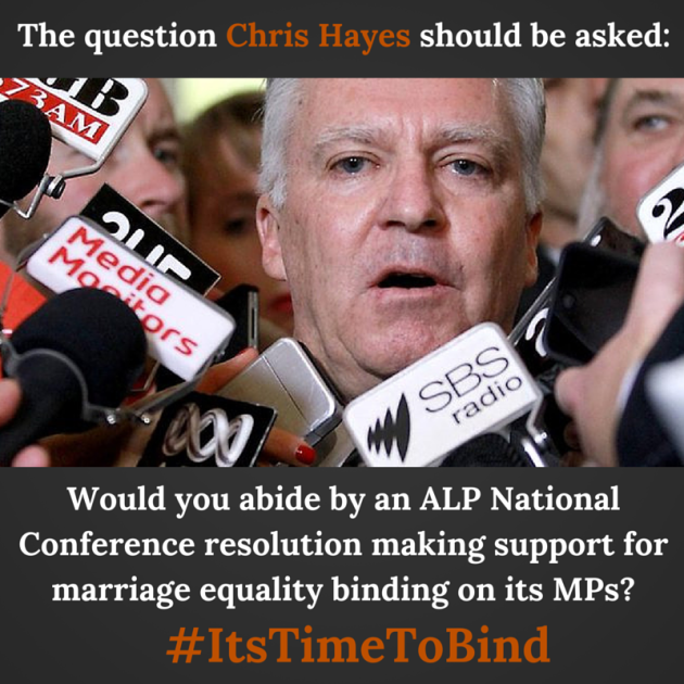 The question Chris Hayes should be asked