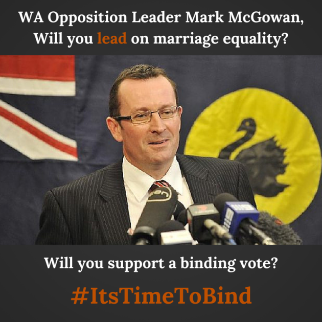 WA Opposition Leader Mark McGowan, Will-2