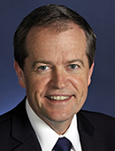 Hon Bill Shorten MP Official portrait 20 March 2013